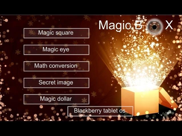 FreeGamia Magic Box Screenshot